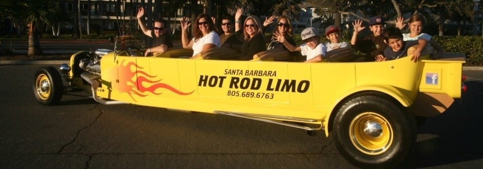 Santa Barbara Hot Rod Limo Header 3